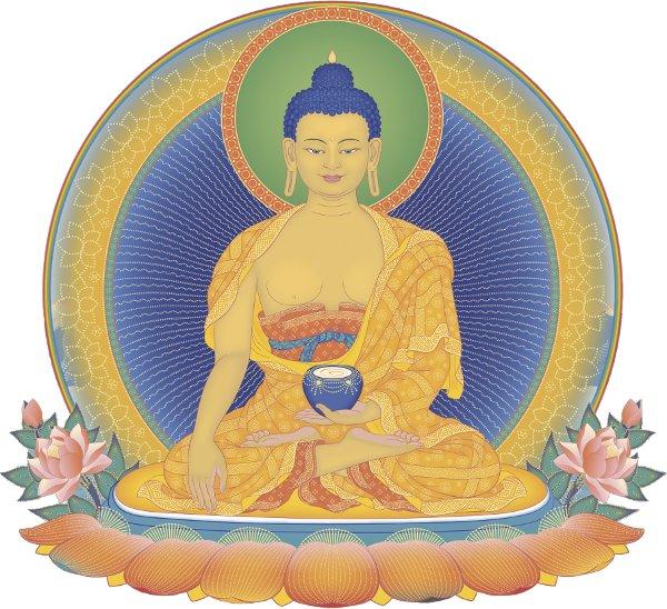Buddha Shakyamuni, the founder of Buddhism