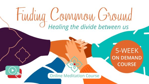 Finding Common Ground On Demand Meditation Course