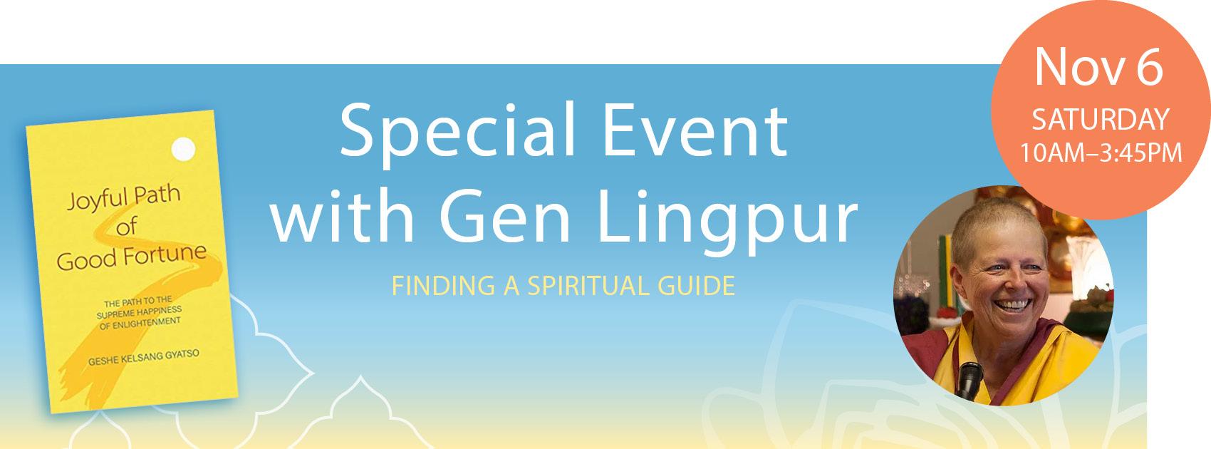 Gen Lingpur Special Event